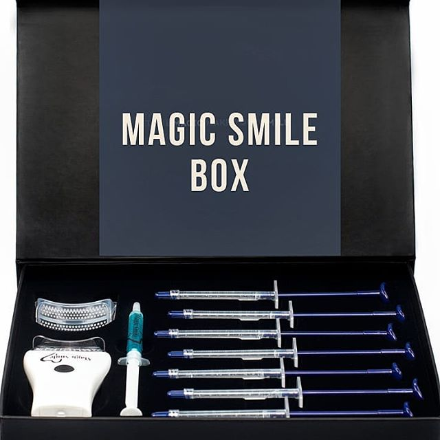 The Magic Smile system for your teeth